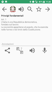 Italian Constitution - náhled