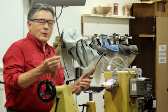 Photo: Clif discussing the Rob Rosand tools he purchased on-line.
