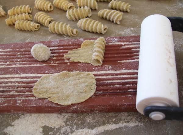 Homemade Radiatore - Potato Whole Wheat Pasta Recipe