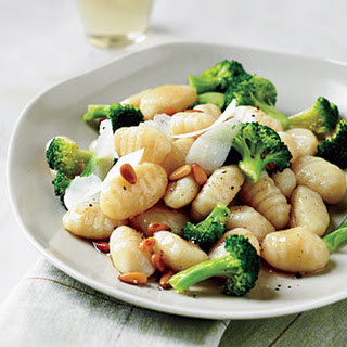 Browned Butter Gnocchi with Broccoli and Nuts