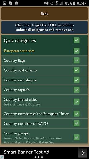 Europe Quiz Free