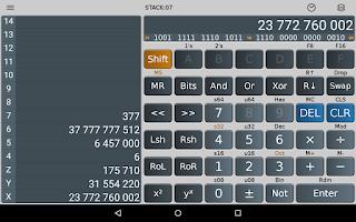 Screenshot of Scientific Calculator Plus