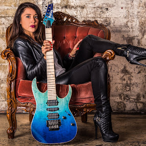 Shred babe by Kelly Hulme - People Portraits of Women
