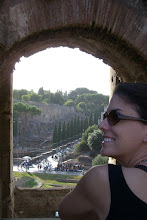 Photo: Looking out a window of the Colosseum in Rome