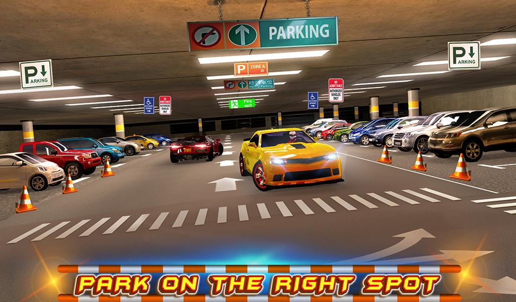 #13. Multi-storey Car Parking 3D (Android)