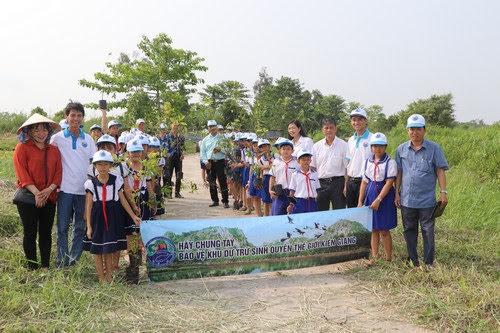 Vườn quốc gia U Minh Thượng, sinh hoạt ngoại khóa 4