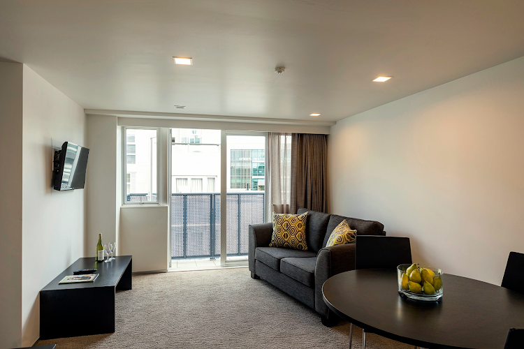 living space at Quest Ponsonby