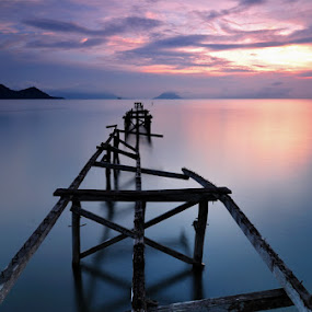 old pier by Mahdy Muchammad - Landscapes Waterscapes
