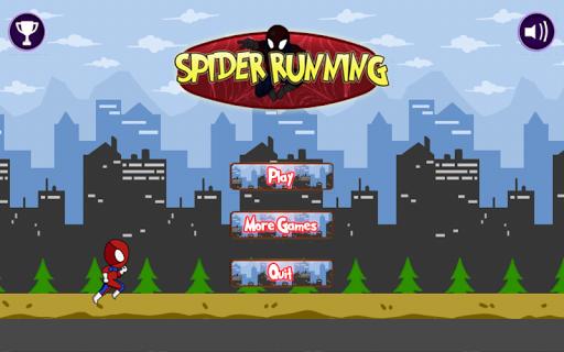 蜘蛛无尽跑步的人