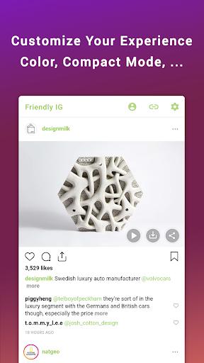 Friendly for Instagram 1.3.9 Screenshots 8