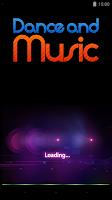 Screenshot of Dance and Music
