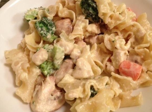 Creamy Chicken & Veggie Strogganoff Recipe