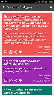 Shashi Kapoor Filmy Old Dialogues - náhled