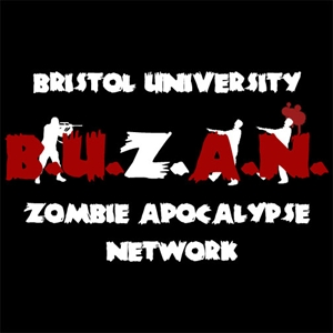 Bristol University Zombie Apocalypse Network logo