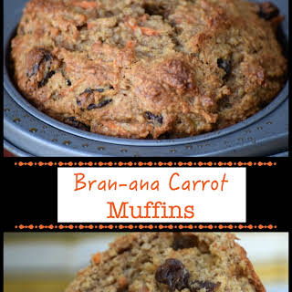 Bran-ana-Carrot Muffins.