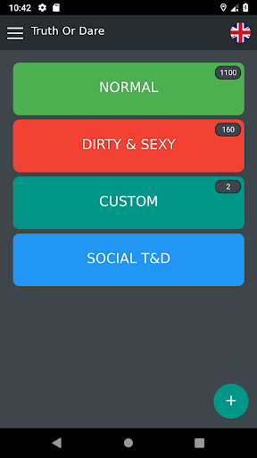 Truth or Dare - Beer Game (Free)  screenshots 1