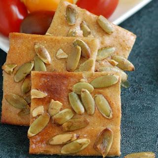 Pumpkin Seed Crackers.