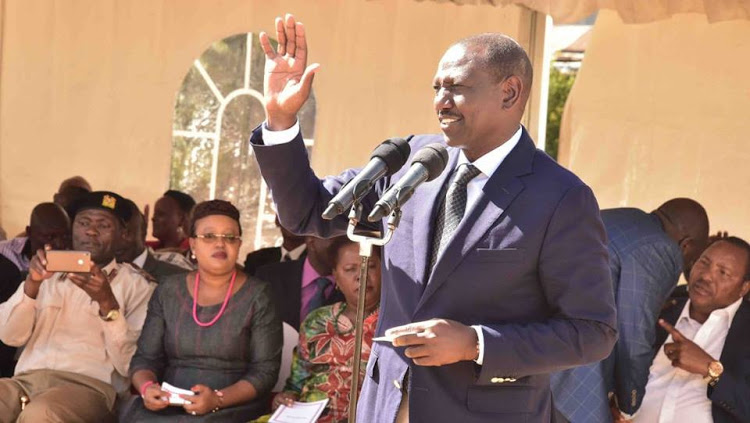 Ruto back to Western for third time in 14 days