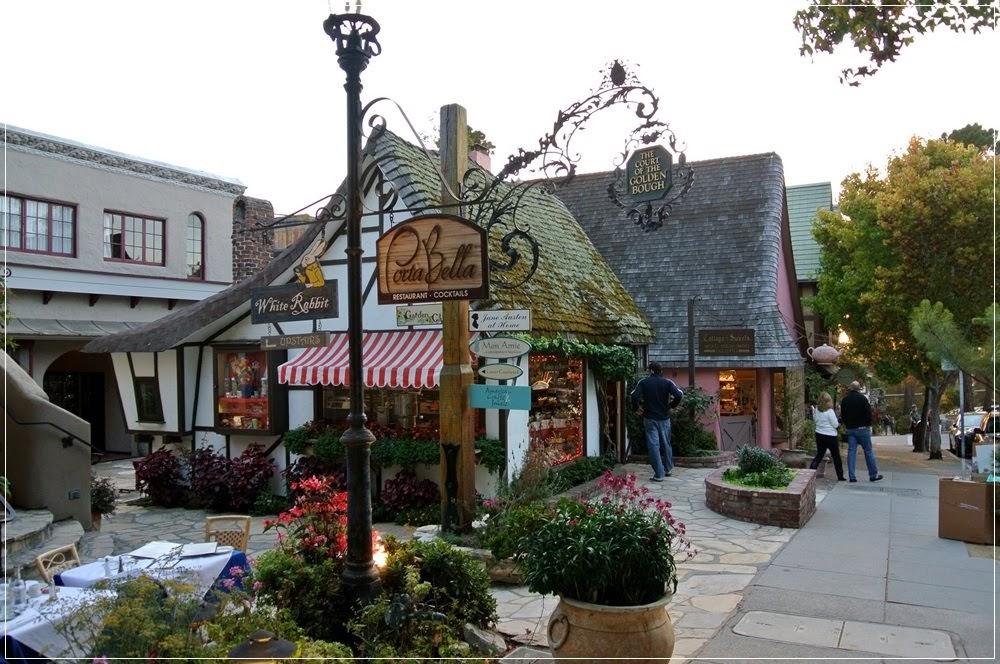 Carmel, a cidade de contos de fadas