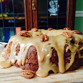 Brown Sugar & Pecan Caramel Pound Cake.