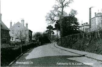 Photo: Bow Road Wateringbury showing the Phoenix Brewery