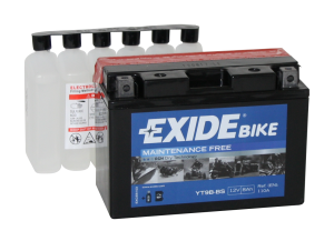 Tudor Exide MC batteri 8Ah AGM YT9B-BS