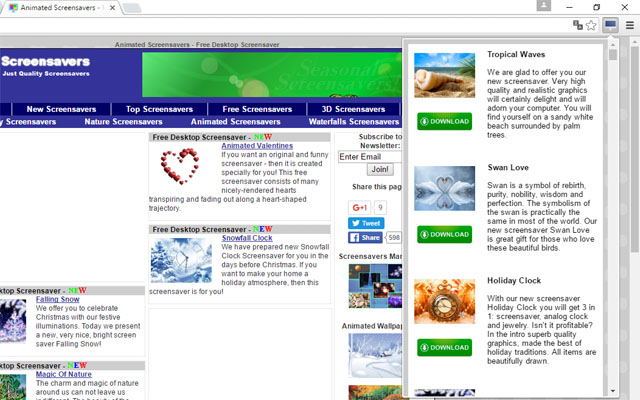 Free Screensavers by FullScreensavers.com
