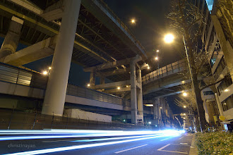 Photo: I shot Higashi-semba Junction (東船場JCT) several time because of it is very huge, this is from west-side... :) #elevatedexpressways   #Junction