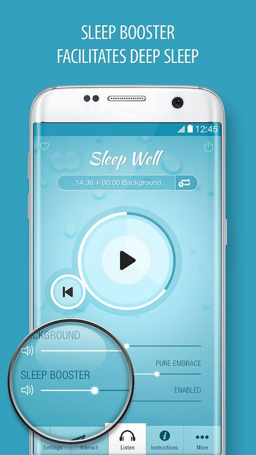 Sleep Well Hypnosis -  Insomnia & Sleeping Sounds- screenshot
