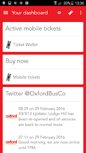 Oxford Bus and X90 m-Tickets screenshot 0