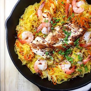 One-Pan Spaghetti Squash Chow Mein (Grain-Free)
