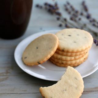 Lavender Sugar Cookies.
