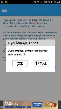 AÖF İlahiyat Çıkmış Sorular 1.1.3 screenshot 1590242