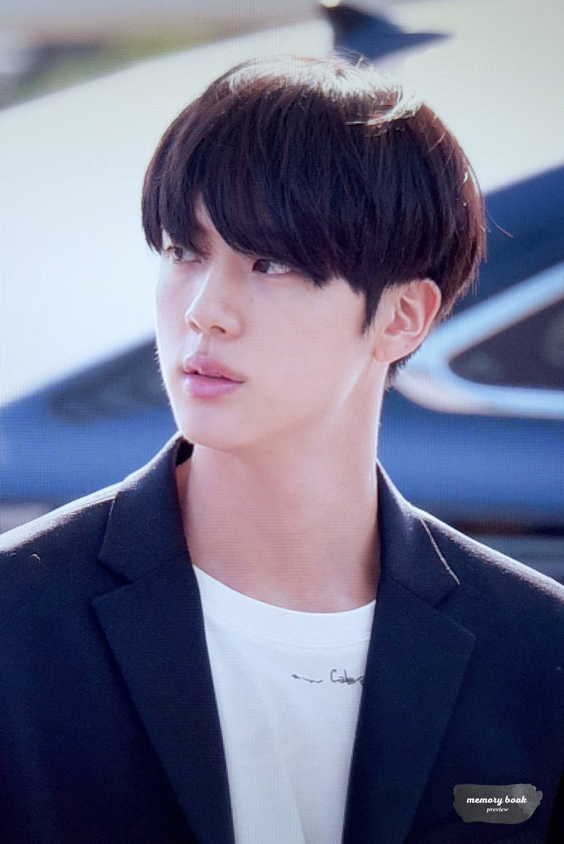 jin black haire