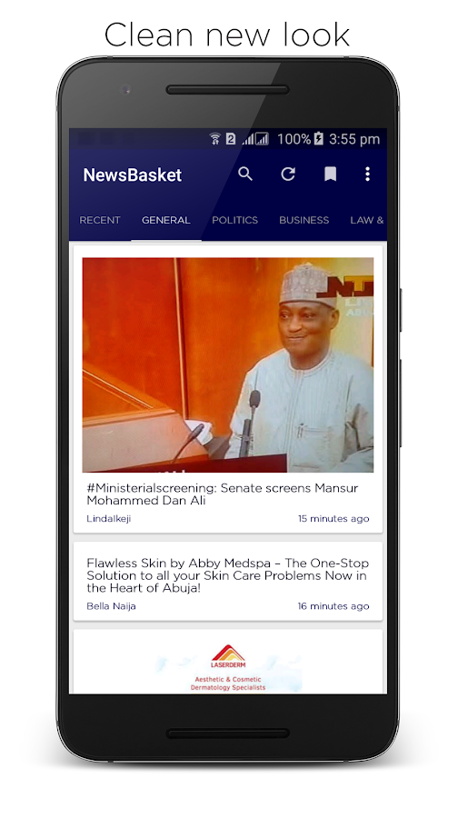 NewsBasket - News In Nigeria- screenshot