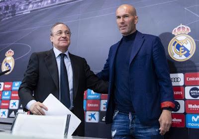 Zinedine Zidane se serait fait virer du Real Madrid et pas qu'à cause d'Eden Hazard !
