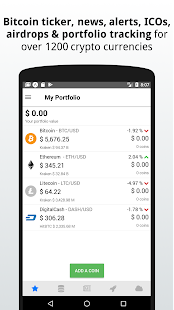 Cryptocurrency tracker - Coin Beat- screenshot thumbnail
