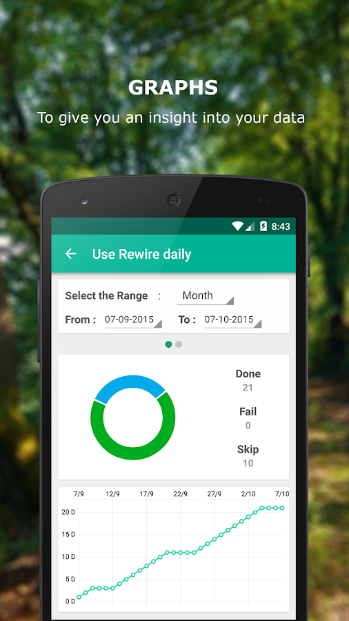 Rewire - Habit & Goal Tracker- screenshot