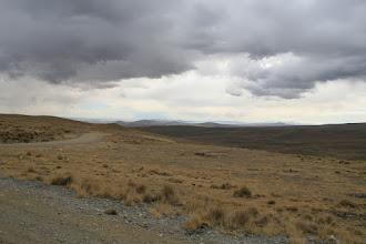 Photo: Der Titicacasee in der Ferne