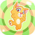 Loony Jumpy Cat: Jump & Fly UP icon
