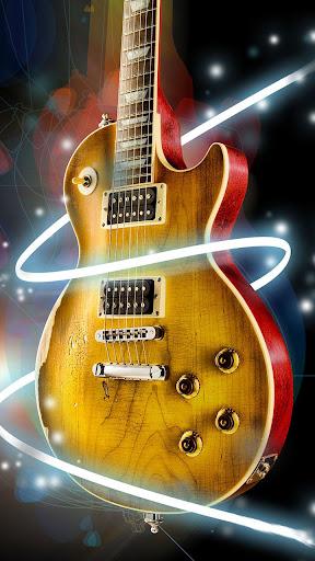 吉他 動態桌布