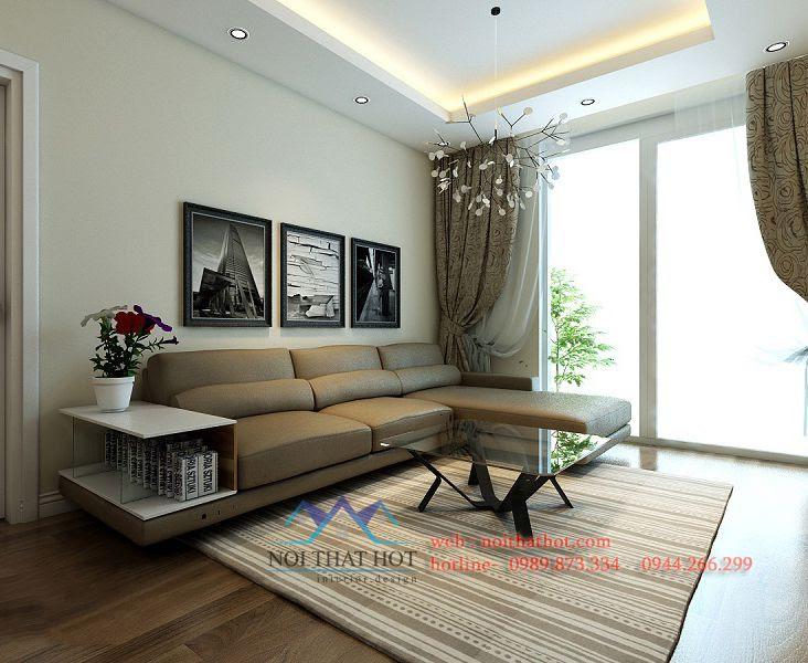 thiết kế phòng khách, thiết kế chung cư đẹp