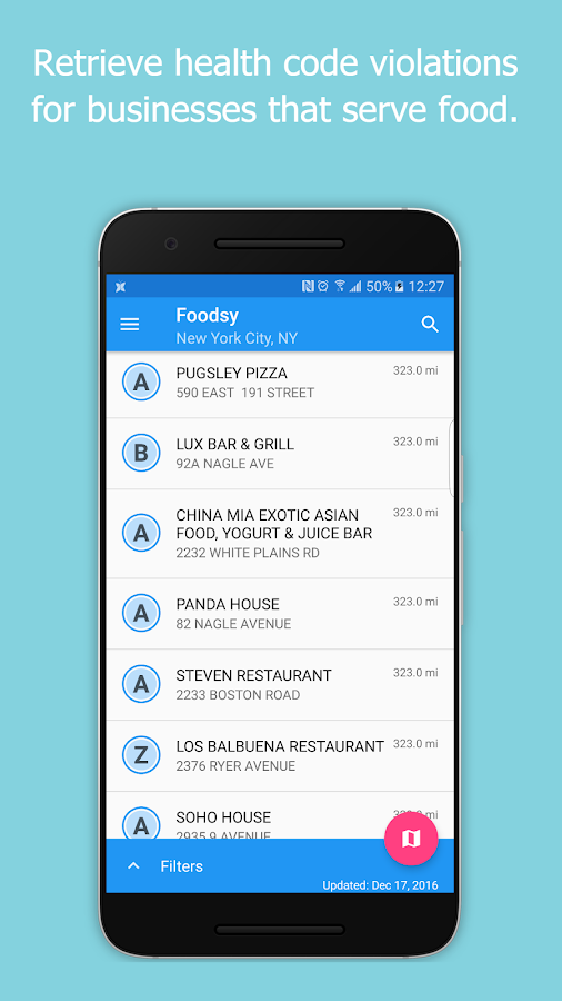 Foodsy- screenshot