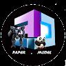 3Dpapermodel icon