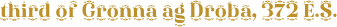 Diara Font Generator Preview