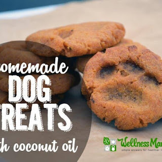 Homemade Dog Treats (With Coconut Oil).
