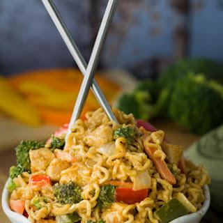 Chicken Noodle Stir Fry With Ramen Noodles Recipes.