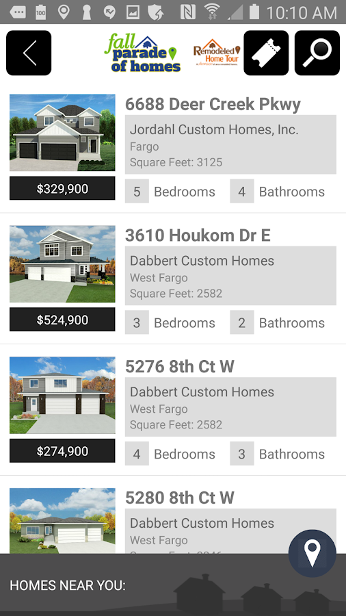 Fargo-Moorhead Parade of Homes- screenshot