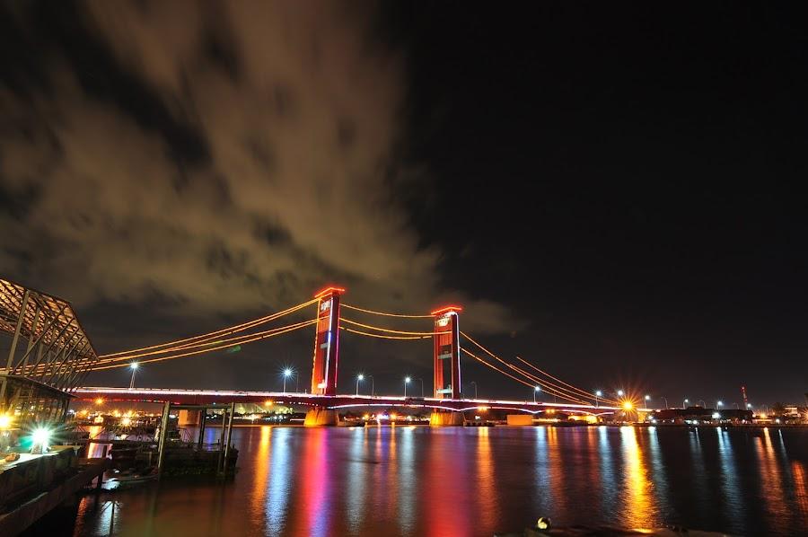 Nightscape by Suhendhik Sk - Buildings & Architecture Bridges & Suspended Structures