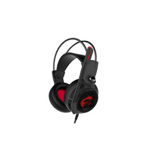 MSI DS502 GAMING Headset Virtual 7.1 Over-Ear